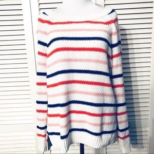 Old Navy | Pullover Striped Sweater